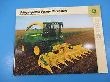 Original John Deere Sales Brochures Self-Propelled Forage Harvesters 7000 M1398