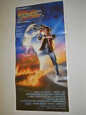 BACK TO THE FUTURE 1 1985 M J FOX RARE STRUZAN N MINT ORIG CINEMA DAYBILL POSTER