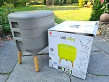 Urbalive Set Kompostwurm Wurmfarm Wurmkomposter Kompost 4 Farben