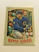 2016 Topps Gypsy Queen Baseball Base Card - Anthony Rizzo - Chicago Cubs