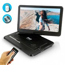 15'' Portable Cd/Dvd Player, Hd Widescreen Display Built-in Rechargeable Battery