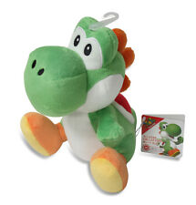 "BRAND NEW Sanei Super Mario All Star Collection AC03 Stuffed Plush Doll 8"" Yoshi"