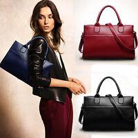 UK Luxury Women Ladies Handbag Shoulder Bag Genuine Leather Bag Tote Satchel Lot
