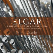Daniel Justin-Complete Original organe Music CD NEUF Elgar, Edward