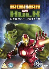 Iron Man And Hulk: Heroes United (DVD)