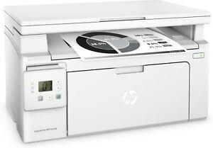 STAMPANTE HP LASERJET PRO MFP M130A Laser Stampante Multifunzione BK - Bianco