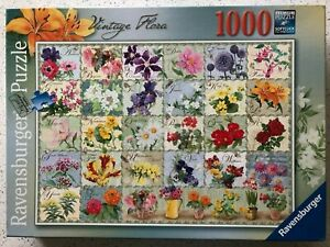 "Ravensburger ""Vintage Flora"" 1000 pc Jigsaw"