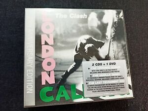 THE CLASH - LONDON CALLING - 2 CD + DVD 25TH ANNIVERSARY EDITION DIGIPACK - COME