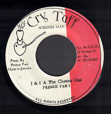 """PRINCE FAR I -  I & I A The Chosen One (RARE REGGAE VINYL SINGLE 7"""" JAMAICA)"""