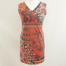Joe Browns Dress Size 10 Red multi coloured Floral Prints