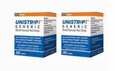 UniStrip 100 Test Strips for use with OneTouch Ultra Ii,Mini,Smart Meter- 07/21+