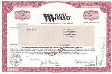 WEST JERSEY BANCSHARES INC......1994 STOCK CERTIFICATE