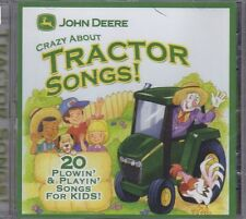 John Deere: Crazy About Tractor Songs (CD, 2009, Green Hill) Child, NEW