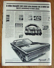 1970 Plymouth Fury Gran Coupe Ad