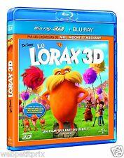 Méga Promo  Le Lorax BLU-RAY 3D + BLU-RAY  VF  NEUF