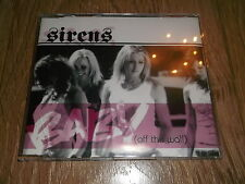 """SIRENS """" BABY (OFF THE WALL) """" CD SINGLE EXCELLENT"""