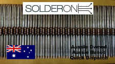 CR25 0.25W 10K Ohm (10K) Carbon Film Resistor (25 Pieces)