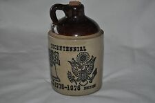 Limited Edition Crock 1776 1976 Bicentennial Brown Jug With Cork Country Decor