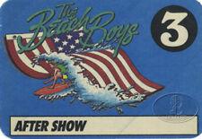 Beach Boys 1986 Blue Usa Backstage Pass 3
