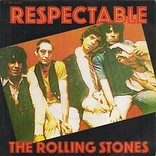 "45 TOURS / 7"" SINGLE--THE ROLLING STONES--RESPECTABLE / WHEN THE WHIP COMES DOWN"