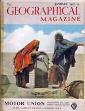 the geographical magazine-JAN 1951-BEDOUINS DRAWING WATER FROM A ROMAN CISTERN.