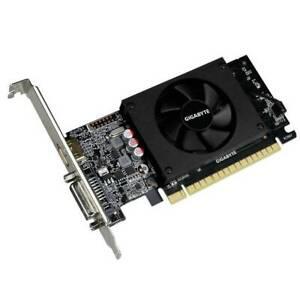 GIGABYTE NVIDIA GeForce GT 710 2GB DDR5 DVI/HDMI Low Profile pci-e Video Card