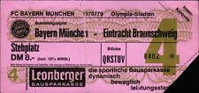 Ticket BL 78/79 FC Bayern München - Eintracht Braunschweig