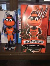 Baltimore Orioles 2018 WWE Mascot Oriole Bird Bobblehead SGA Birdlandmania