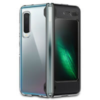 Galaxy Fold Case | Spigen® [Ultra Hybrid] Shockproof Protective Clear Slim Cover