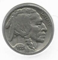 Rare Old Antique 1935 US Buffalo Indian Nickel Collection Great USA Coin LOT:V37
