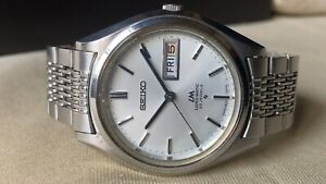 Vintage SEIKO Automatic Watch/ LORD MATIC LM 5606-7070 23J SS 1970 For Repair