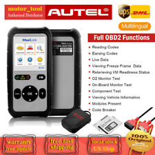 AUTEL OBD Fault Code Reader Scanner Car Check Engine Full OBD2 Diagnostic Tool