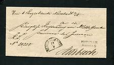 """Bayern - """"Postablage Neustadt a.A.""""  auf Dienstbrief   (#655)"""