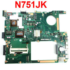 N751JK Laptop Motherboard For ASUS N751JK N751J N751 Mainboard I7-4710HQ GTX850M