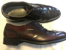 Dexter Mens Comfort Classic Brown Wing Tips Size 8.5M FREE SHIPPING