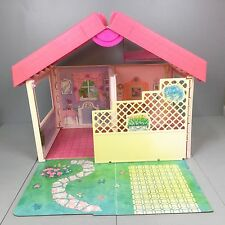 Barbie House FOLD N FUN Folding Case House VINTAGE 1992 Pink