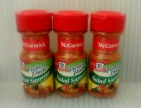 (3) Pack McCormick Perfect Pinch Salad Supreme 2.62 oz. New Sealed Exp 07/2021