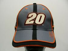 TONY STEWART - 20 - HOME DEPOT - NASCAR - ONE SIZE ADJUSTABLE BALL CAP HAT!