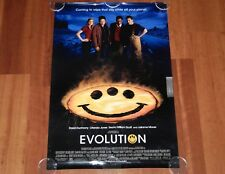 ORIGINAL MOVIE POSTER EVOLUTION 2001 UNFOLDED DS INTL ADVANCE ONE SHEET