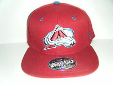 Colorado Avalanche Authentic Stretch Fit Cap Size Medium / Large M/L Burgundy
