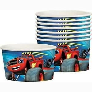 Blaze and The Monster Machines Snack Treat Ice Cream Cups 8 Ct Birthday Party