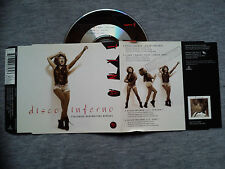 "TINA TURNER – ""DISCO INFERNO"" PROMO CD SINGLE. FEATURING  BEATMASTERS REMIXES"