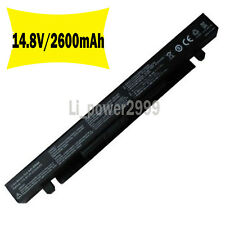 BATTERY A41-X550 A41-X550A 14.4V -2200mAh for ASUS X550CA X55L82H A450 A550 F550