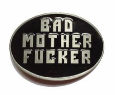 Bad Mother F*cker Belt Buckle Pulp Fiction Metal Jules Winnfield Wallet Mofo