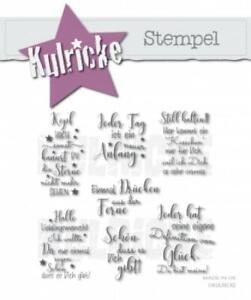 "Kulricke Stempel ""Freunde #4"" Clear Stamp"