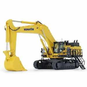 Komatsu PC1250-11 Mining Excavator w/ Bucket - Yellow - NZG 1:50 Scale #999 New!