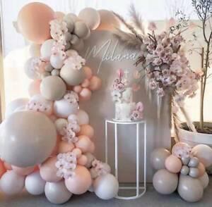 105pcs Maca Pink Balloon Arch Kit Garland Birthday Wedding Party DIY Decoration
