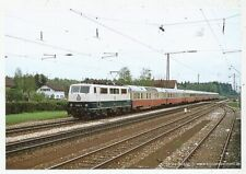 CPA PK AK PHOTO TRAIN CHEMIN DE FER LOCOMOTIVE D' EUROPE TEE SNCB SNCF RAI DB