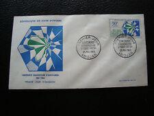 COTE D IVOIRE - enveloppe 1er jour 25/5/1963 (cy72) (A)