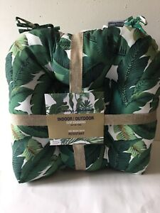 Tommy Bahama Set Of 2 Indoor/Outdoor  Seat Cushions NEW